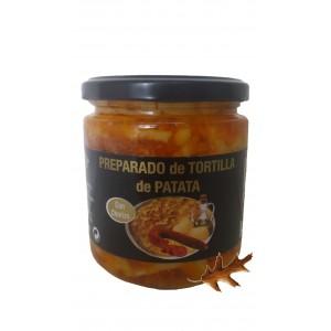 Preparado Tortilla patata con chorizo