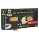 Foie Gras entero de pato micuit 125g con pan de pasas 40g